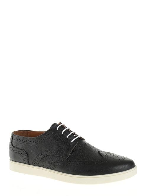 Let'z Oxford Ayakkabı Siyah